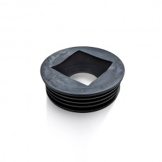 D96 Rainwater Adaptor 110mm x 65mm square/68mm round
