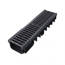 250kn Drainage Channel x 500mm Cast Iron Grate - Shallow