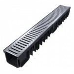 B125 Drainage Channel (125kn) Galvanised Grate