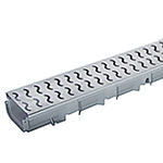 Pegasus A15 Decorative Stainless Steel Drainage Channel