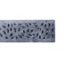 Botanical Grate Raw Cast Iron x 300mm