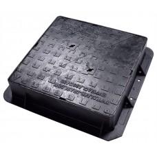675x675x100 D400 Ductile Iron Manhole Cover & Frame