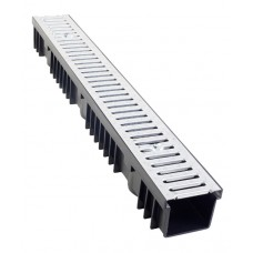 A15 Drainage Channel x 1m Galvanised Grate - Pallet of 84 lengths