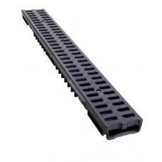 Low Profile Drainage Channel x 1m B125 Plastic Grate