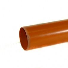 82mm Underground Drainage Pipe x 3m P/E