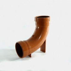 110mm 87.5° Underground Drainage Rest Bend D/S (Extended Foot)