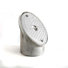 110mm Oval Rodding Eye - Aluminium