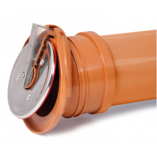 110mm Drainage Flap Valve/Rodent Barrier