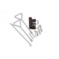 Universal Manhole Key Kit with Interchangeable Ends 520mm (2 keys)