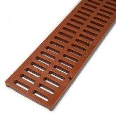 Slotted Grate Brick Red x 900mm