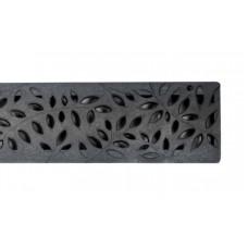 Botanical Grate Black x 900mm