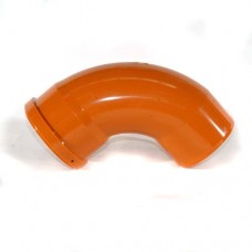 82mm Underground Drain Bend 87.5° Single Socket