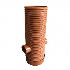 250mm dia Silt Trap 110mm inlet/outlet