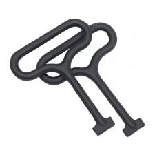 Ductile Iron Medium Duty Loop Handle Lifting Key (pair)