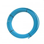 Blue MDPE 25mm x 50m Coil