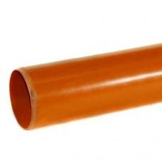 110mm Underground Drainage Pipe x 3m P/E