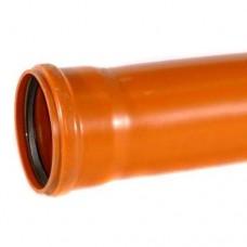 110mm Underground Drainage Pipe x 3m S/S