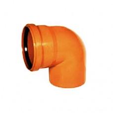 250mm 87° Single Socket Bend