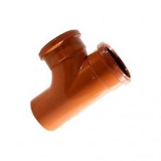 250mm 87° Double Socket Junction