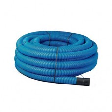 Blue Twinwall Duct 63mm x 50m Coil