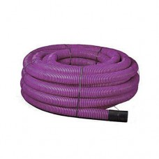 Purple Twinwall Duct 63mm x 50m Motorway Communications