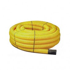 Yellow Twinwall Duct 63mm x 50m Coil