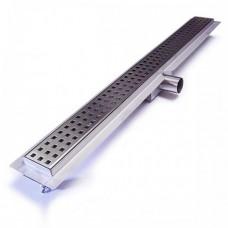 Laser Cut Square Shower Drain 500mm Long