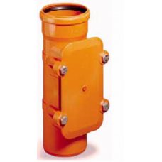 200mm Access Pipe Underground Drainage - Bolt Down Sealing Plate