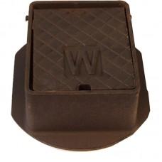 Cast Iron Surface Box Badged 'W' 152mm x 127mm x 75mm Deep