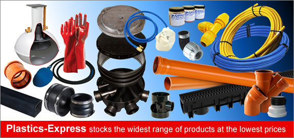 PLASTICS-EXPRESS stocks the widest range of products at the lowest prices