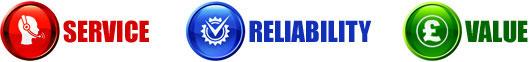 SERVICE - RELIABILITY - VALUE