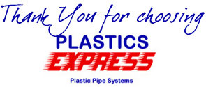 Thank You for choosing Plastics Express