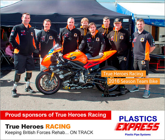 PLASTICS EXPRESS - Proud sponsors of True Heroes Racing